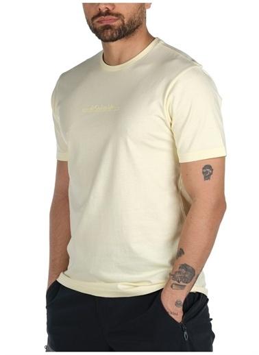 Columbia Columbia Sarı Erkek T-Shirt Sarı